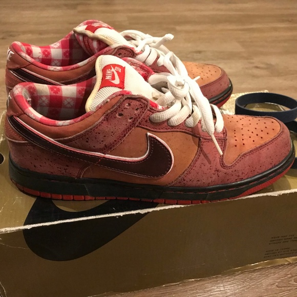 Red Lobster Nike Sb Dunk Low